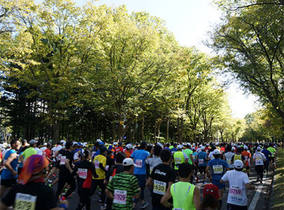 子供と楽しめる親子マラソンとしてとても人気札幌マラソン開幕!