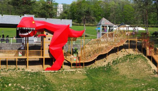 子供に大人気!砂川 こどもの国のアスレチック遊具全公開。