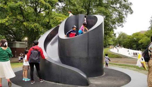 札幌大通り公園の子供の遊び場全遊具公開!